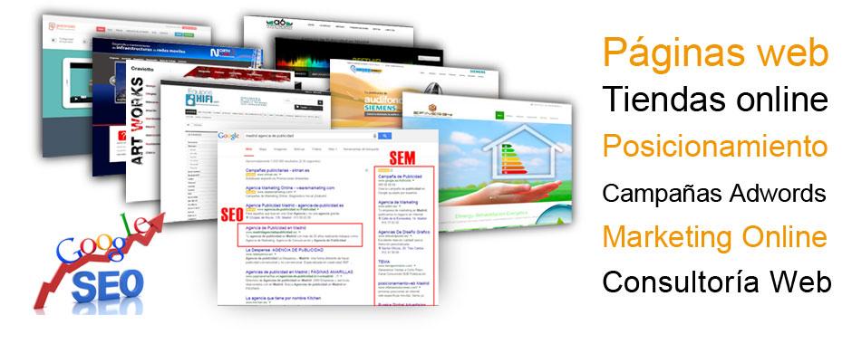 Diseño de páginas web en Las Rozas de Madrid