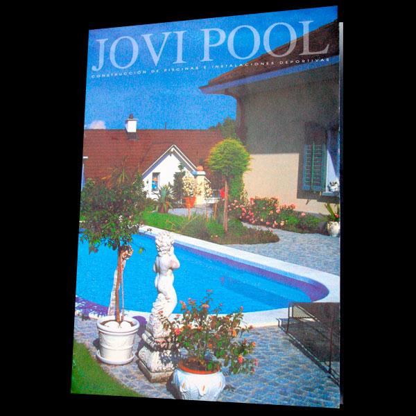 dise241o de carpeta para empresa de piscinas