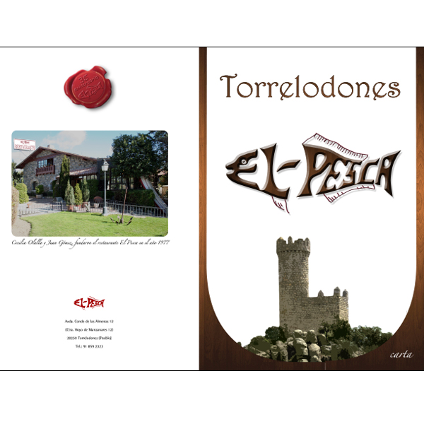 Dise amos la carta de tu restaurante en madrid torrelodones - Trabajo en torrelodones ...
