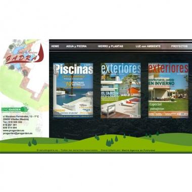 Diseño de pagina web para estudio de paisajismo