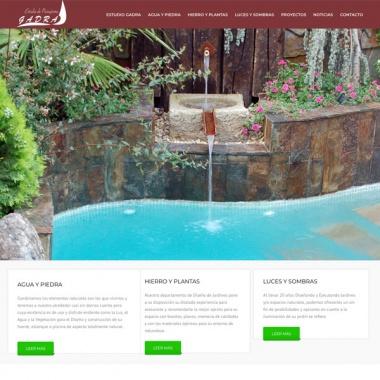 Diseño paginas web para estudios de paisajismo