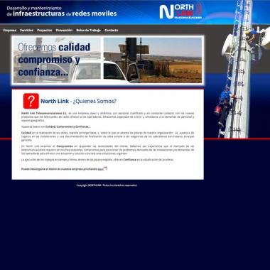 Diseño de páginas web para empresas de telecomunicaciones