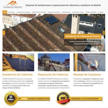 Diseño web para empresas de construcción en Madrid