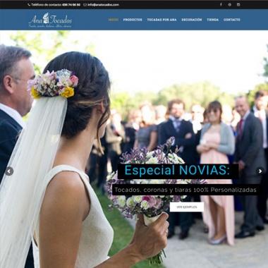 Diseño web para empresas de bodas en Madrid